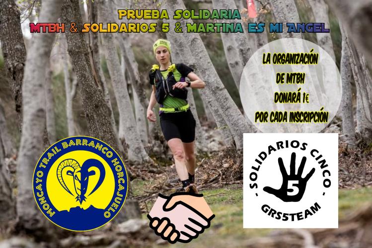 Moncayo Trail apoya a Solidarios Cinco